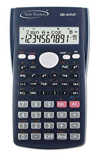 Calculadora científica Avanzada, 240 Funciones, calculadora científica de ingeniería de 2 líneas, Pantalla LCD, Oficina de Negocios, Escuela Secundaria Media, Estudiante Sat/Ap Prueba calcular