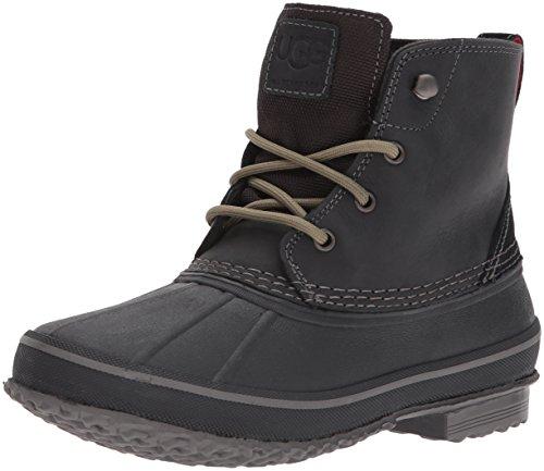 UGG Men's Zetik Winter Boot, Black, 11.5 M US