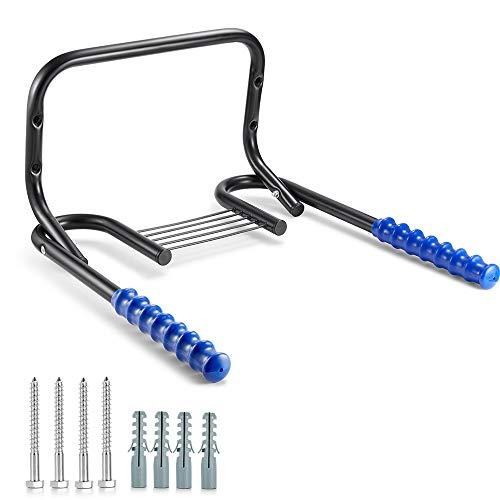 Rosgel Soporte de pared para bicicleta, soporte de pared para almacenamiento de...