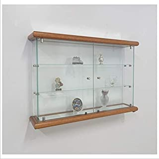 VM ART DESIGN GLASS Vitrina de Pared VMBR3HT-TR (Cherry Wood)