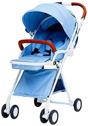 Lowest Prices! GPWDSN 2in1 Baby Stroller Portable Baby Carriage Stroller Foldable Adjustable High Vi...