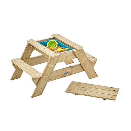 TP Toys 285 Picnic Table and Sand Pit, Wooden
