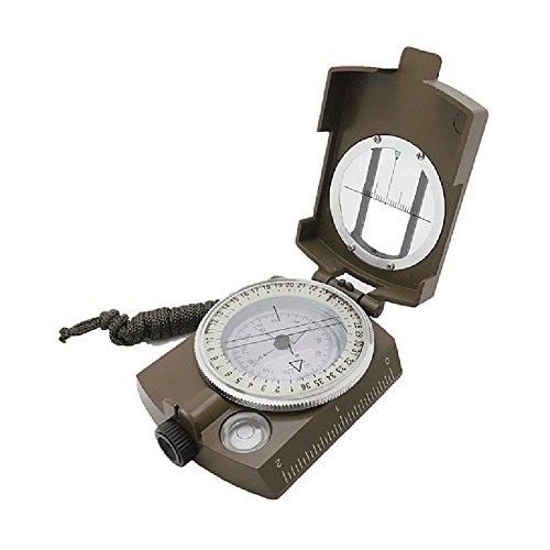 Professionale Compass Military Army Geology Compass Avvistamento bussola luminosa con sacchetto