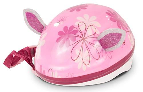 Götz 3403177 Puppen REIT- & Fahrradhelm Tierisch gut für Stehpuppen XS (27 cm) & Babypuppen S (30 - 33 cm) - Innenmaß 25 cm