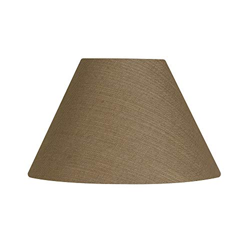 Oaks Lighting Pantalla para lámpara (Lino), marrón