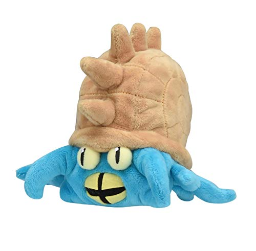 Pokemon Center Original Fit Omastar Amonistar Amoroso Plush Peluche
