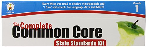 Carson Dellosa The Complete Common Core State Standards Kit Pocket Chart Cards 158169