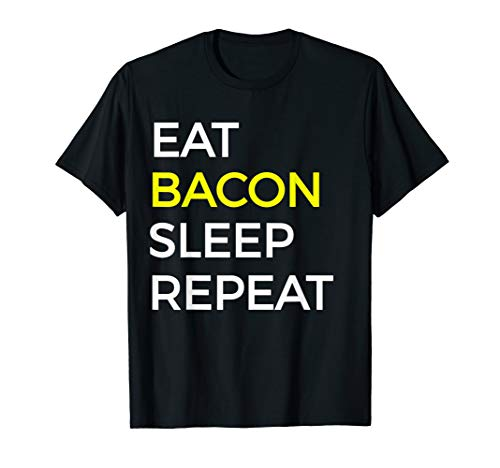 Bacon Food T Shirt For Bacon, Pork, & Ham Food Lovers