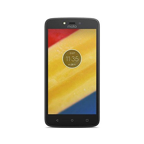 Motorola Moto C Plus – Smartphone de 5 (4 G, Bluetooth 4.2, procesador Quad Core MediaTek mt6737 m, memoria interna de 16 GB, 2 GB de RAM, HD, Android 7.0 Nougat) Negro