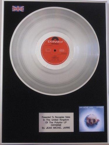 Jean Michel Jarre - Disco de platino - oxígeno LP