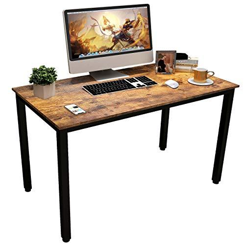 Schreibtisch, APOWE Computertisch PC Tisch Bürotisch Arbeitstisch Home Office Schreibtisch Laptop Tisch Arbeitszimmer für Heimbüro Wohnzimmer,Einfache Montage (100 * 50 * 75 cm)