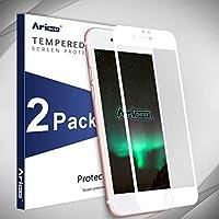 Aribest Protector de Pantalla iPhone 7 Cobertura Completa, Protector de Prima de Cristal Templado iPhone 7 [Protección...