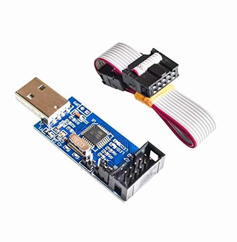 1 x USBASP USBISP AVR Programmierer USB ISP USB ASP ATMEGA8 ATMEGA128 unterstützt Win7 64K