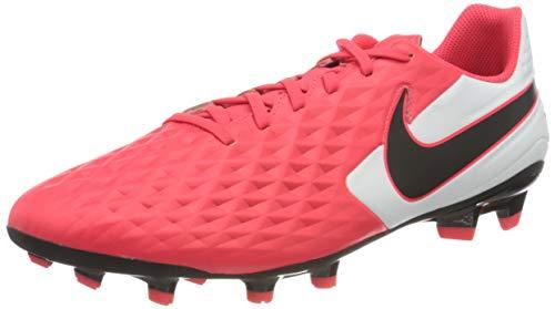 Nike Legend 8 Academy Fg/MG, Scarpe da Calcio Unisex-Adulto, Laser Crimson/Nero/Bianco, 42.5 EU