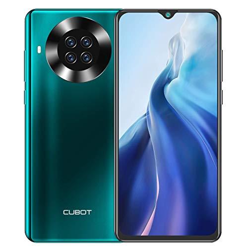CUBOT Note 20 Pro Smartphone 4G (6,5 pulgadas, 8 GB de RAM, 128 GB de memoria, 4200 mAh, cámara Quad NFC), Android [versión alemana] (verde)