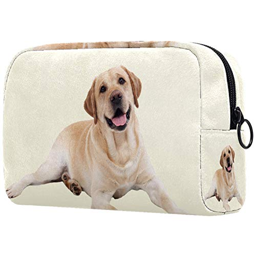 Makeup Bag Pouch Purse Coin Bag (7.3x3x5.1in) Cute Dogs Theme 7.3x3x5.1in(L xW xH) Make up Case Organizer for Women and Girls