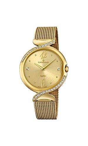 Candino Reloj Análogo clásico para Mujer de Cuarzo con Correa en Acero Inoxidable C4612/2