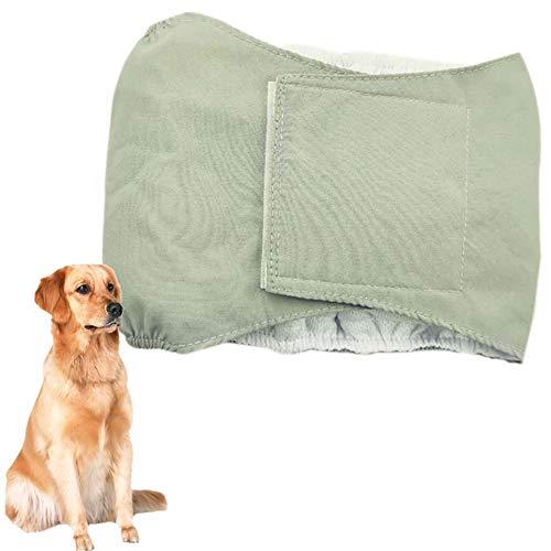 BOENTA Hundewindel Hunde Windeln Hundebauchbänder männlich Hygienehosen für Hunde Hund Windeln männlich Hundehose Hunde Periode Hosen Windeln für Rüden Gray,xs