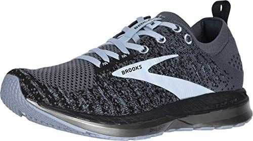 Brooks Womens Bedlam 2 Running Shoe - Black/Grey/Kentucky Blue - B - 8.0