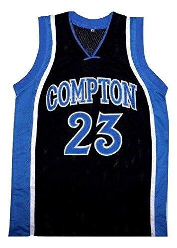 borizcustoms DeRozan Compton High School Basketball Jersey Stitch (38) Black