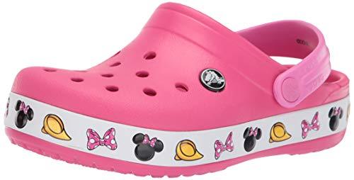 crocs Baby Mädchen Crocband Minnie Clog, Paradise Pink, 26 EU