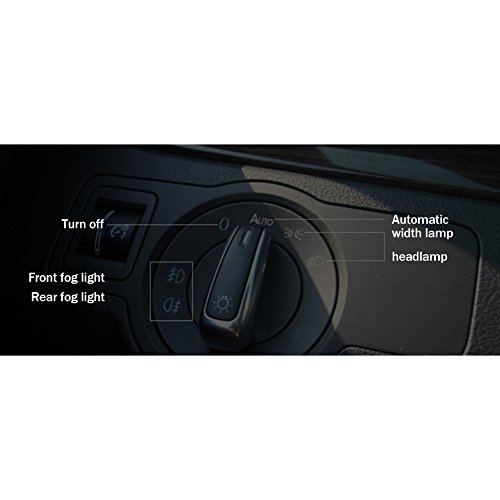 FOORDAY - Interruptor de Repuesto para Faros Delanteros de Coche para VW Golf 4 Jetta MK4 Polo New Bora Passat B5 Jetta MK6