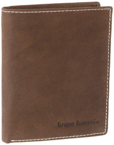 Bruno Banani 14 W 320.101 Herren Geldbörsen 1x12x10 cm (B x H x T), Braun (braun)