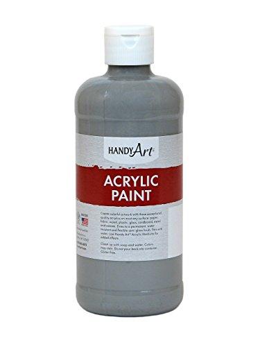 Handy Art Student Acrylic Paint 16 ounce, Gray,101-105