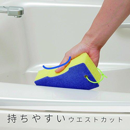 レック激落ちバスクリーナーマイクロベロア(バススポンジ風呂スポンジ)S-214