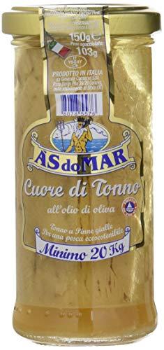 Asdomar - Cuore di Tonno, all'Olio di Oliva, 150 g