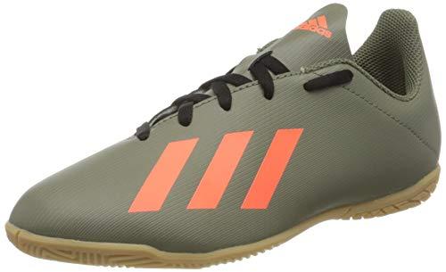 Adidas X 19.4 IN J, Botas de fútbol Unisex niño, Multicolor (Legacy Green/Solar Orange/Core Black Legacy Green/Solar Orange/Core Black), 30 EU