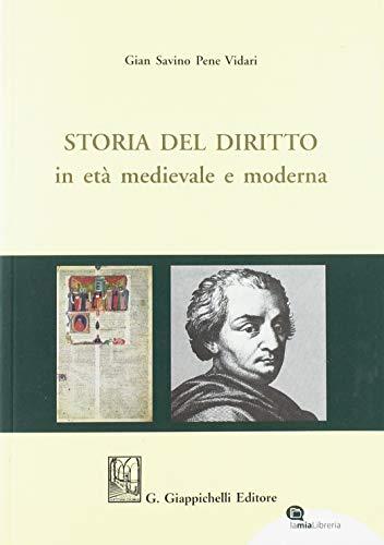 Storia del diritto in età medievale e moderna
