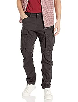 G-Star Raw Men s Rovic Zip 3D Straight Tapered Fit Casual Pants Raven 32W x 32L