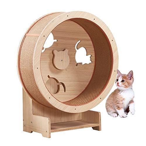 DYYTR Cat Climbing Frame, Cat Furniture Cat Climbing Wheel, Cat Climbing Frame Cat Litter Cat Climbing Wheel Cat Máquina para Correr contra La Pared Cat Toy