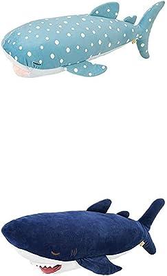 りぶはあと 抱き枕 プレミアムねむねむかむかむズクール 冷感 抗菌仕様 ジンベエザメのじんべえさん&サメのザップセット