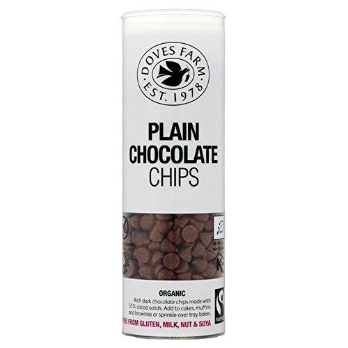 sale Doves Farm Organic Gluten Free Plain Chips - Chocolate 140g Pack online shop
