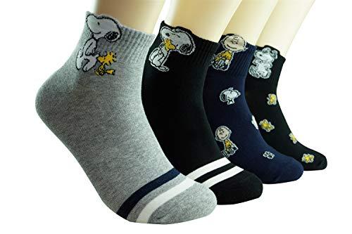 DASOM Frauen Geschenk Snoopy Socke