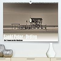 Sankt Peter-Ording. Ein Traum an der Nordsee (Premium, hochwertiger DIN A2 Wandkalender 2022, Kunstdruck in Hochglanz): Sankt Peter-Ording in Sephia (Monatskalender, 14 Seiten )