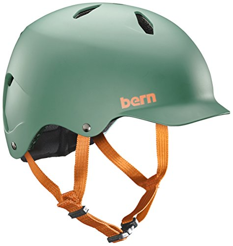 Bern Kinder Kinderhelm Bandito Helm, mattgrün, Gr. M/L (53 - 56 cm)