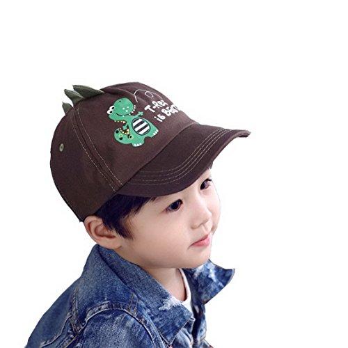 Chapeau de Soleil Basecaps Dinosaure Animaux pour Bébé Enfant Garçon