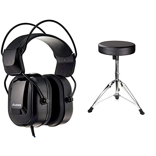Alesis Over-Ear Reference Headphones Built for Professional Electronic Drum Monitoring