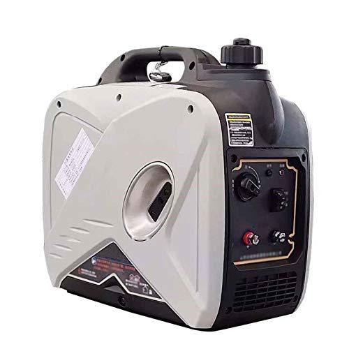 LYYAN Generador portátil, 2000W Control Remoto Silencioso Generador de Coche Conversión de frecuencia Inteligente Generador de Gasolina
