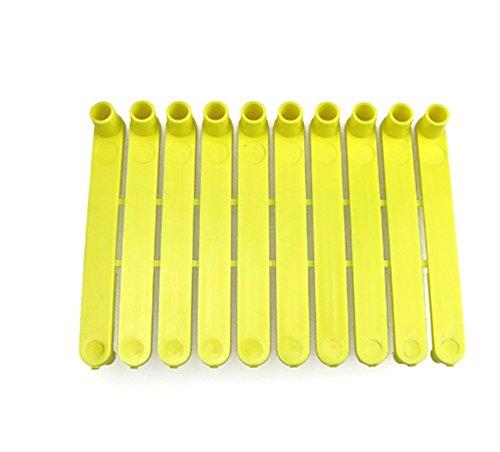 Einteilige Ohrmarken für Ziegen/Schaf/Tierinstrumente; Werkzeug, universale Ohrmarken/Stanze/Zange, Bauernhof-Zubehör, universal