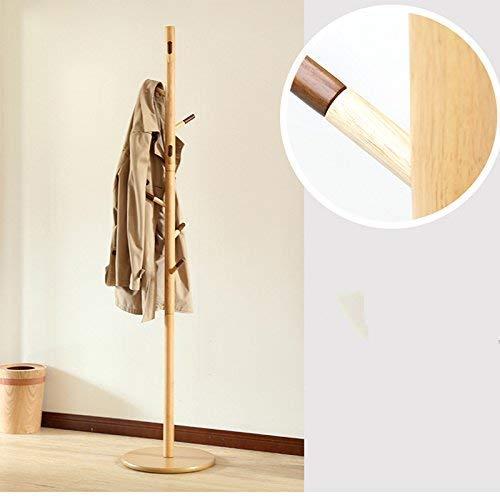 FF Hangers voor het drogen van planken Massief hout hangers Standing slaapkamer Woonkamer Badkamer hangers Thuis Eenvoudige kleding Kledingrek Kleren rek