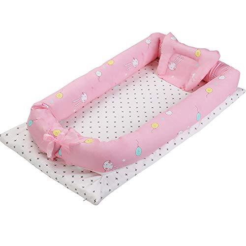 Babybed, babybed, 0-3 jaar, mini-reis, draagbaar, antidruk, babyslaap, bionisch Lapin ballon 90 * 50 * 15cm