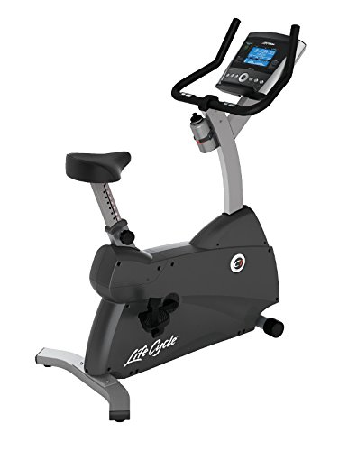 Life Fitness - bicicleta estática C1 con consola GO
