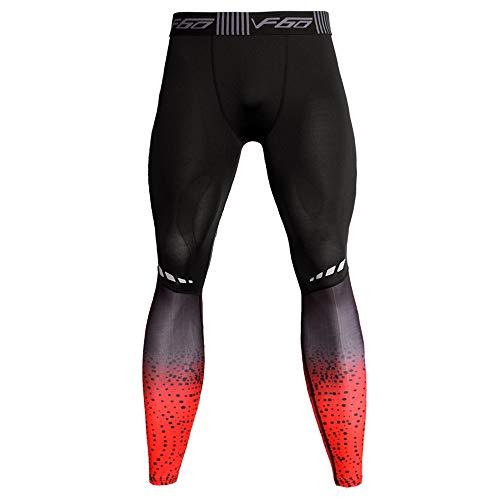 duoying Leggings ajustados al aire libre de la línea muscular Bodyboulding Fitness Gym Top transpirable pantalones de compresión