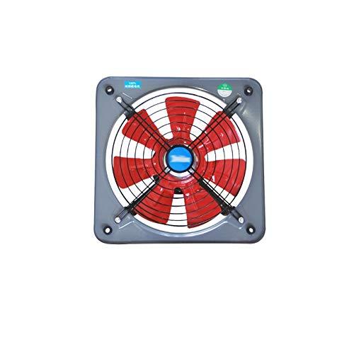 JEONSWOD Ventiladores De Extracción De Inodoro De Cocina De Ventilación Industrial Extractor De Escape De Metal Ventilador De Aire Comercial Ventilador Axial