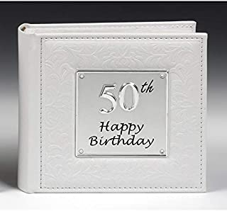 Deluxe 50th Birthday Party Photo Picture Album Gift by Shudehill