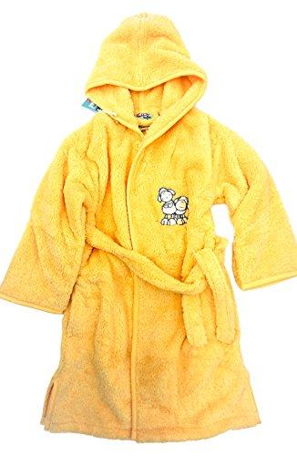 Morgenster badjas NICI schapen, geel, 122/128